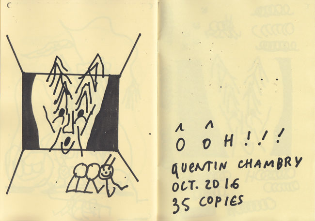 ooh zine quentin chambry photocopy