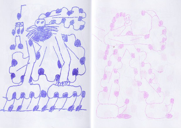 shobobooks decapitron 48 quentin chambry zine roneo duplicator spirit alcool carbon paper drawings dot