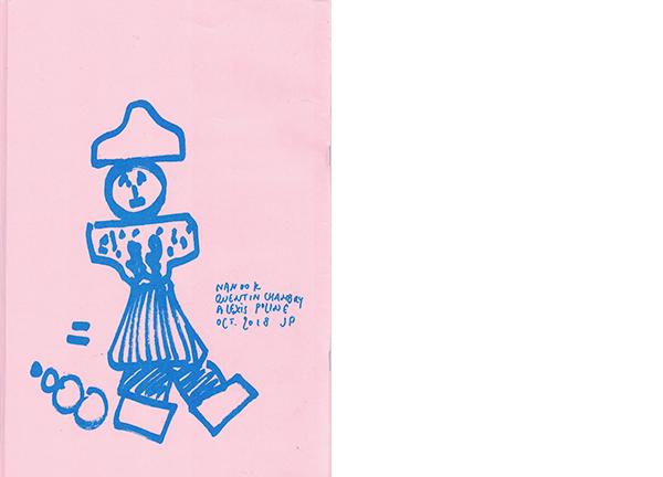 nanook alexis poline quentin chambry zine tokyo futatabi ansanburu ensemble pink